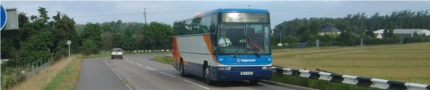 Transport bus at kinloss