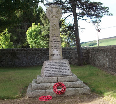 Glenrinnes War Memorial